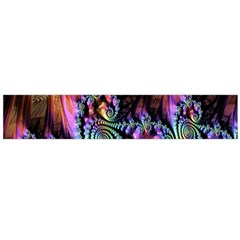 Fractal Colorful Background Flano Scarf (Large)