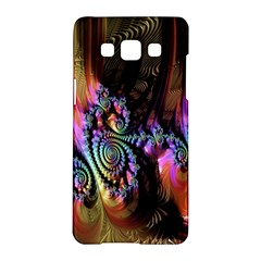 Fractal Colorful Background Samsung Galaxy A5 Hardshell Case
