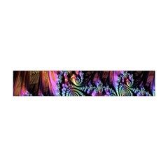 Fractal Colorful Background Flano Scarf (mini)