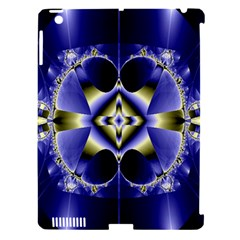 Fractal Fantasy Blue Beauty Apple Ipad 3/4 Hardshell Case (compatible With Smart Cover)