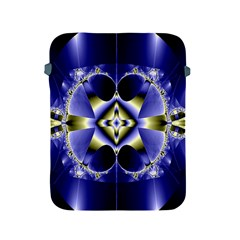 Fractal Fantasy Blue Beauty Apple Ipad 2/3/4 Protective Soft Cases