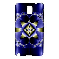 Fractal Fantasy Blue Beauty Samsung Galaxy Note 3 N9005 Hardshell Case