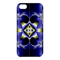 Fractal Fantasy Blue Beauty Apple iPhone 5C Hardshell Case