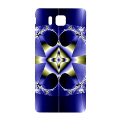 Fractal Fantasy Blue Beauty Samsung Galaxy Alpha Hardshell Back Case
