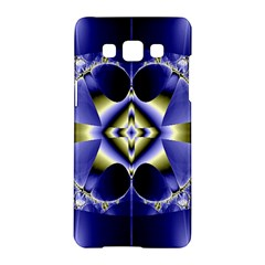 Fractal Fantasy Blue Beauty Samsung Galaxy A5 Hardshell Case
