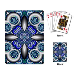 Fractal Cathedral Pattern Mosaic Playing Card