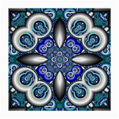 Fractal Cathedral Pattern Mosaic Medium Glasses Cloth (2-Side)