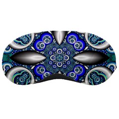 Fractal Cathedral Pattern Mosaic Sleeping Masks