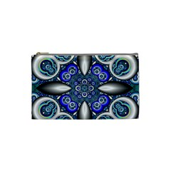 Fractal Cathedral Pattern Mosaic Cosmetic Bag (Small)