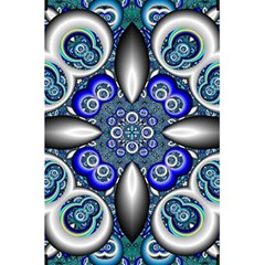 Fractal Cathedral Pattern Mosaic 5 5  X 8 5  Notebooks