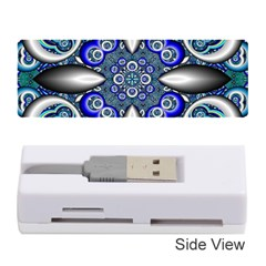 Fractal Cathedral Pattern Mosaic Memory Card Reader (Stick)
