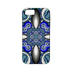 Fractal Cathedral Pattern Mosaic Apple Iphone 5 Classic Hardshell Case (pc+silicone)