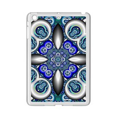 Fractal Cathedral Pattern Mosaic iPad Mini 2 Enamel Coated Cases