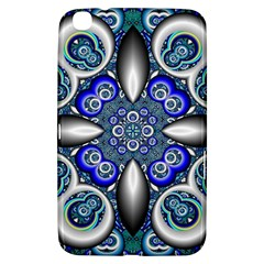 Fractal Cathedral Pattern Mosaic Samsung Galaxy Tab 3 (8 ) T3100 Hardshell Case