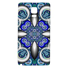 Fractal Cathedral Pattern Mosaic Galaxy Note 4 Back Case