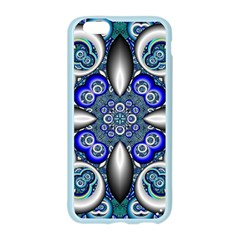 Fractal Cathedral Pattern Mosaic Apple Seamless iPhone 6/6S Case (Color)