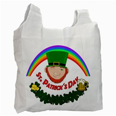 St. Patrick Recycle Bag (Two Side)