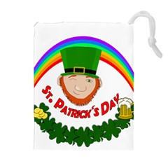 St. Patrick Drawstring Pouches (Extra Large)