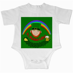 St. Patrick s day Infant Creepers