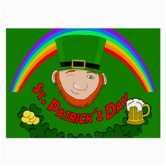 St  Patrick s Day Large Glasses Cloth