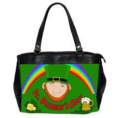 St. Patrick s day Office Handbags (2 Sides)