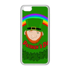 St  Patrick s Day Apple Iphone 5c Seamless Case (white)