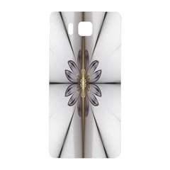 Fractal Fleur Elegance Flower Samsung Galaxy Alpha Hardshell Back Case
