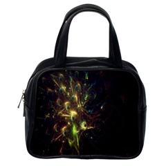 Fractal Flame Light Energy Classic Handbags (One Side)