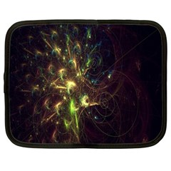 Fractal Flame Light Energy Netbook Case (xxl)