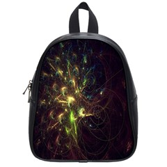 Fractal Flame Light Energy School Bags (Small)