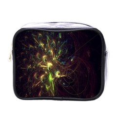 Fractal Flame Light Energy Mini Toiletries Bags