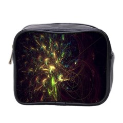 Fractal Flame Light Energy Mini Toiletries Bag 2-Side