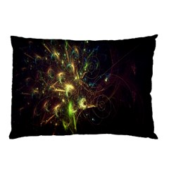 Fractal Flame Light Energy Pillow Case (Two Sides)