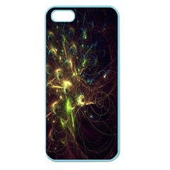 Fractal Flame Light Energy Apple Seamless Iphone 5 Case (color)