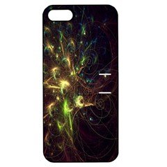 Fractal Flame Light Energy Apple Iphone 5 Hardshell Case With Stand