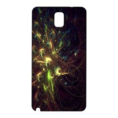 Fractal Flame Light Energy Samsung Galaxy Note 3 N9005 Hardshell Back Case
