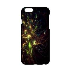 Fractal Flame Light Energy Apple iPhone 6/6S Hardshell Case