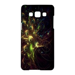 Fractal Flame Light Energy Samsung Galaxy A5 Hardshell Case