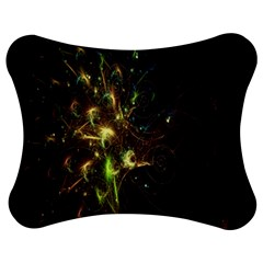 Fractal Flame Light Energy Jigsaw Puzzle Photo Stand (Bow)