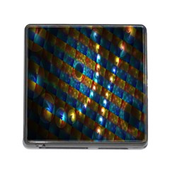 Fractal Digital Art Memory Card Reader (Square)