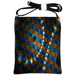 Fractal Digital Art Shoulder Sling Bags