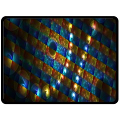 Fractal Digital Art Fleece Blanket (Large)
