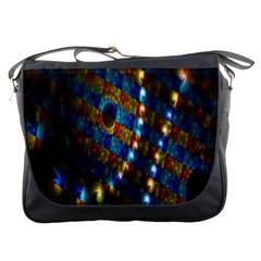 Fractal Digital Art Messenger Bags
