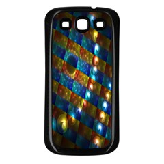 Fractal Digital Art Samsung Galaxy S3 Back Case (Black)