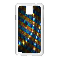 Fractal Digital Art Samsung Galaxy Note 3 N9005 Case (White)