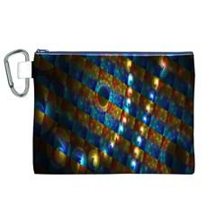 Fractal Digital Art Canvas Cosmetic Bag (XL)