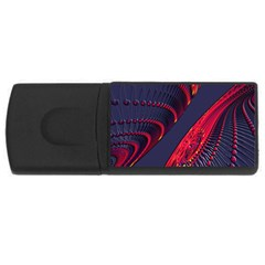 Fractal Fractal Art Digital Art USB Flash Drive Rectangular (2 GB)
