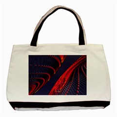 Fractal Fractal Art Digital Art Basic Tote Bag