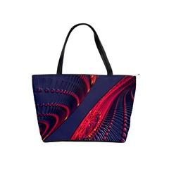 Fractal Fractal Art Digital Art Shoulder Handbags