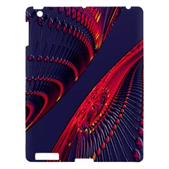 Fractal Fractal Art Digital Art Apple Ipad 3/4 Hardshell Case